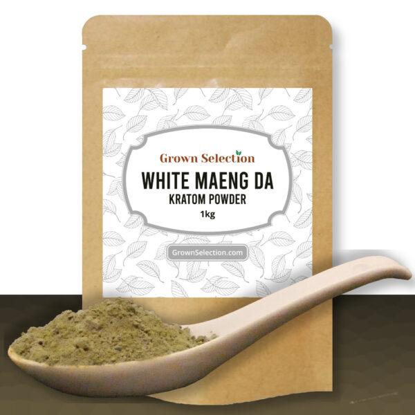 White Maeng Da Kratom Powder, 1kg