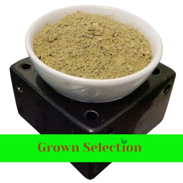 Green Maeng Da Kratom Powder in a bowl