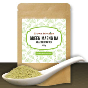 Green Maeng Da Kratom Powder, 100g