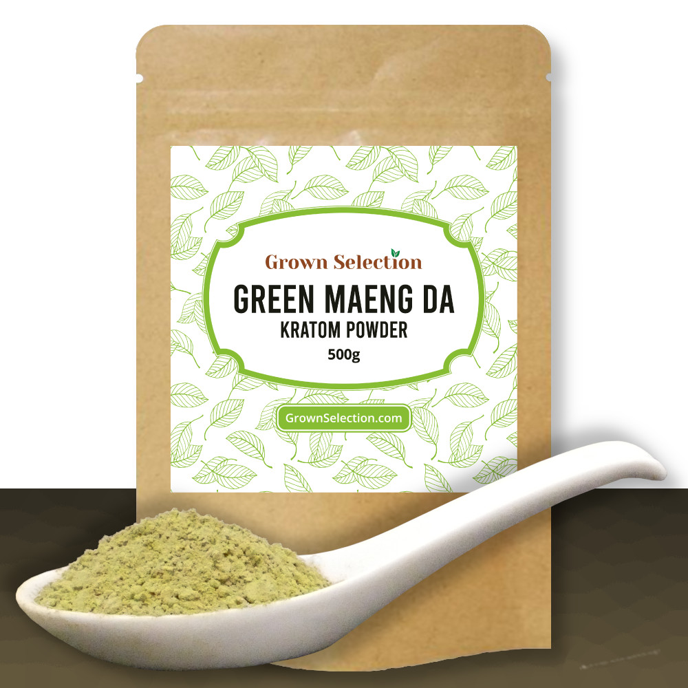 Green Maeng Da Kratom Powder, 500g