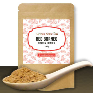 Red Borneo Kratom Powder, 100g
