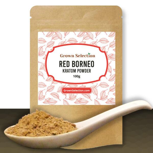 Red Borneo Kratom Powder, 100g