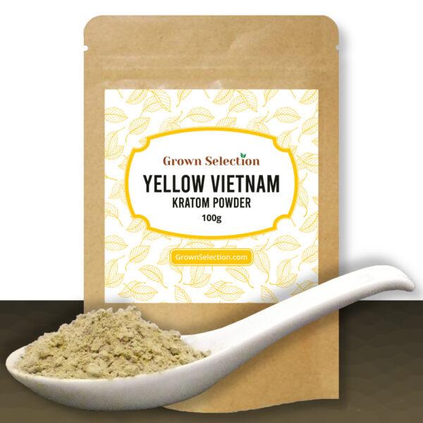 Yellow Vietnam Kratom Powder, 100g