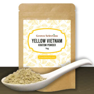 Yellow Vietnam Kratom Powder, 1kg