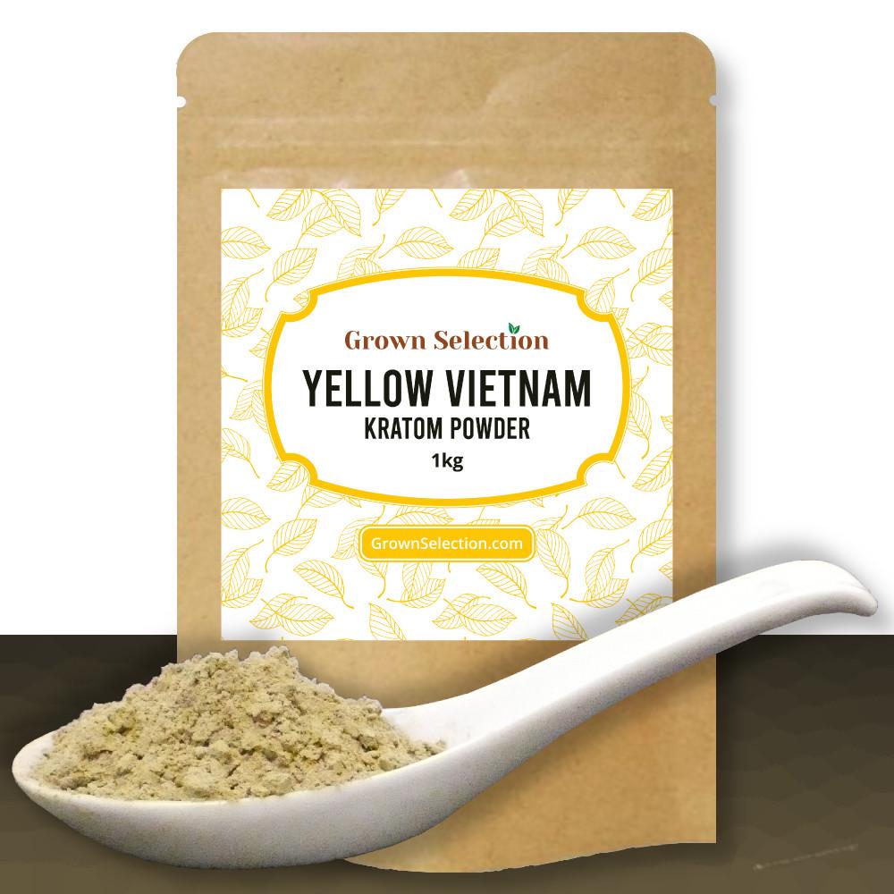 Yellow Vietnam Kratom Powder, 1kg