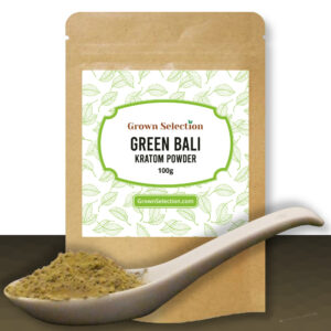 green bali kratom powder, 100g