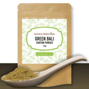 green bali kratom powder, 1kg