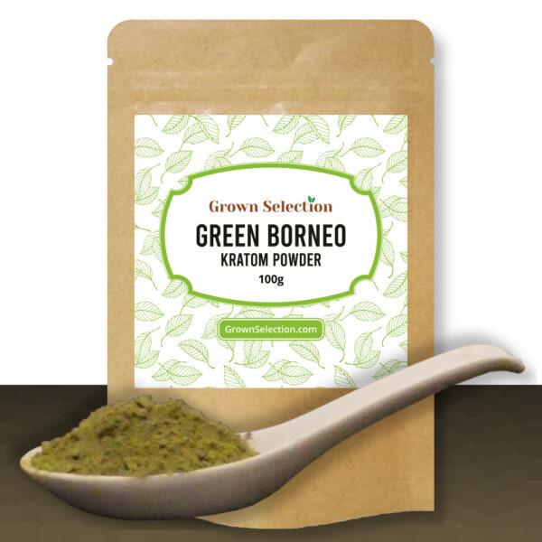 Green Borneo Kratom Powder, 100g
