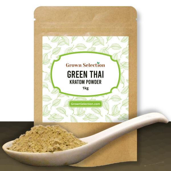 Green Thai Kratom Powder, 1kg