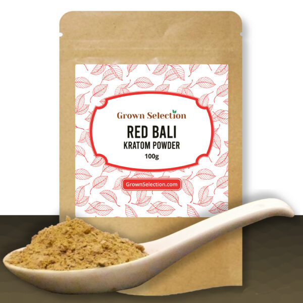 Red Bali Kratom Powder, 100g