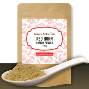Red Horn Kratom Powder, 100g