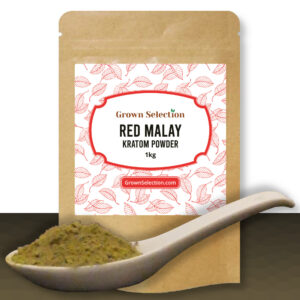 Red Malay Kratom Powder, 1kg