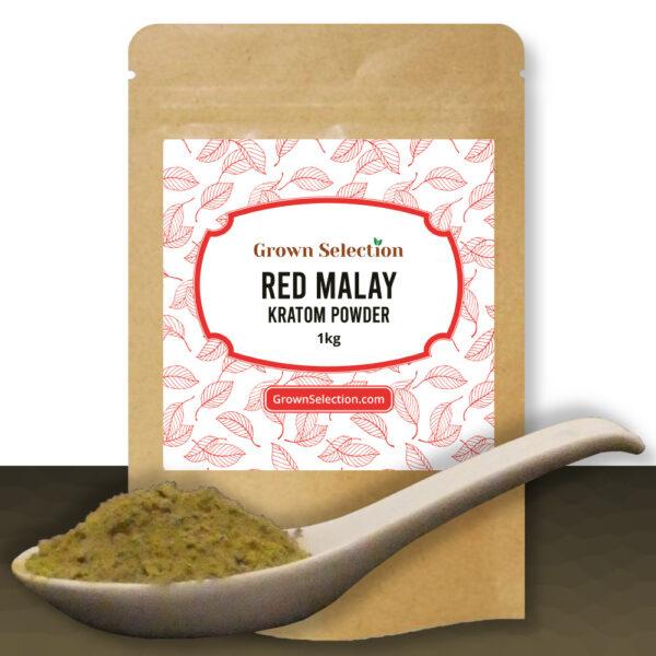 Red Malay Kratom Powder, 1kg