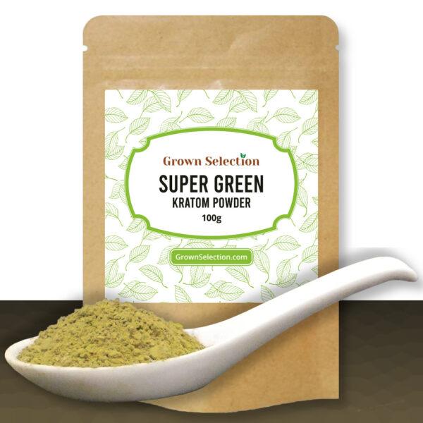 Super Green Kratom Powder, 100g