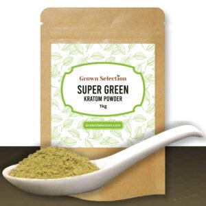 Super Green Kratom Powder, 1kg