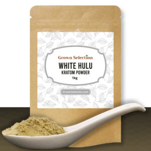 White Hulu Kratom Powder, 1kg