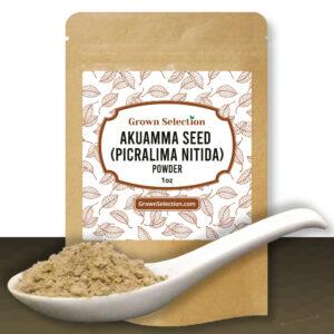 Akuamma Seed (Picralima Nitida) Powder, 1oz