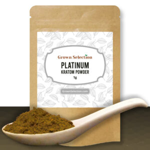 Platinum Kratom Powder, 1g