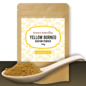 Yellow Borneo Kratom Powder, 100g