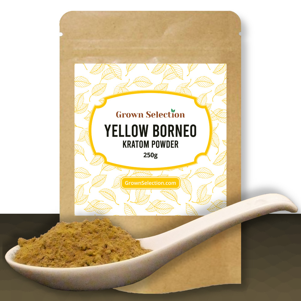 Yellow Borneo Kratom Powder, 250g