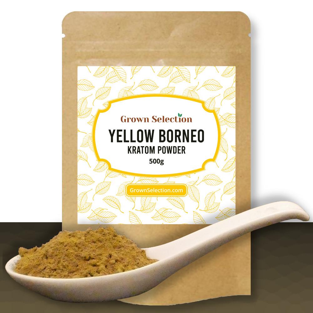 Yellow Borneo Kratom Powder, 500g