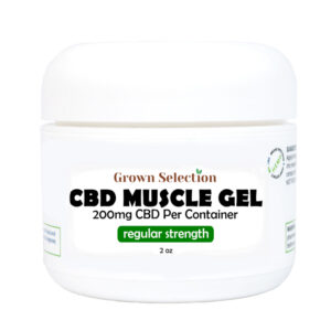 CBD muscle gel, 200mg
