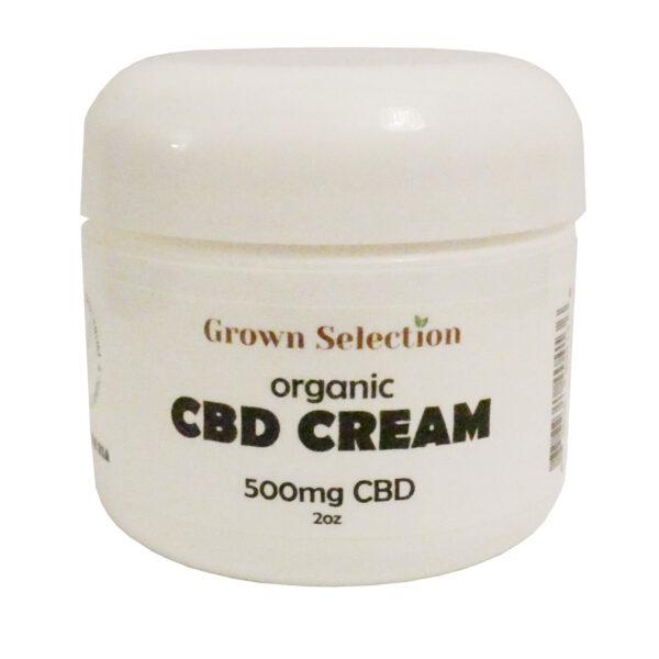 CBD cream, 500mg, 2oz