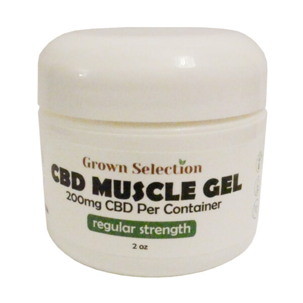 CBD muscle gel, 200mg, 2oz