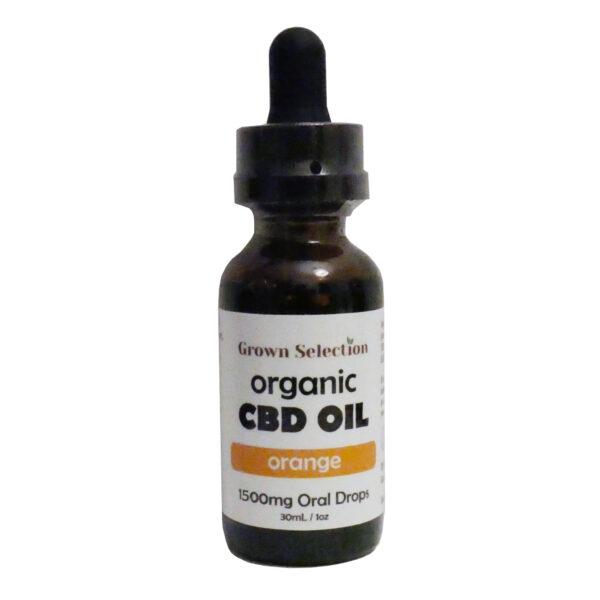 1500mg orange CBD oil, 30ml