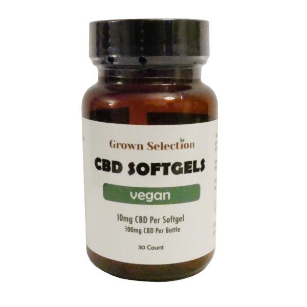 10mg vegan softgels, 30ct
