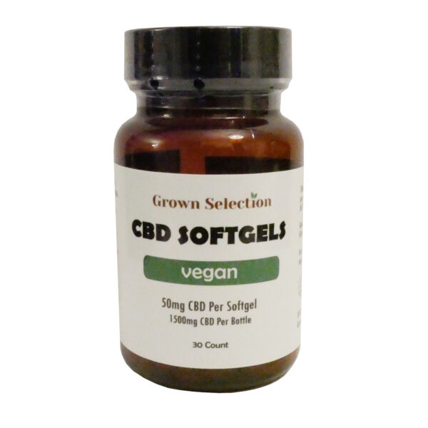 50mg vegan softgels, 30ct